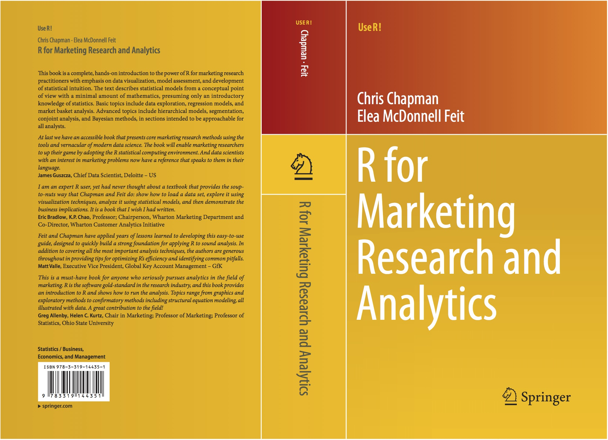 Chapman & Feit: R for Marketing Research and Analytics